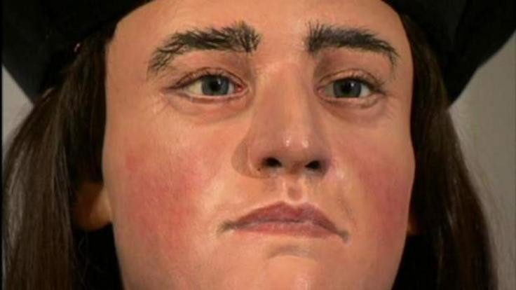Richard III's facial rebuild