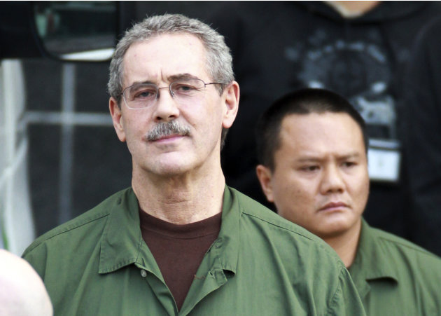 FILE - In this March 6, 2012 file photo, R. Allen Stanford leaves the Bob Casey Federal Courthouse in Houston. Stanford, once considered one of the wealthiest people in the U.S., with a financial empi