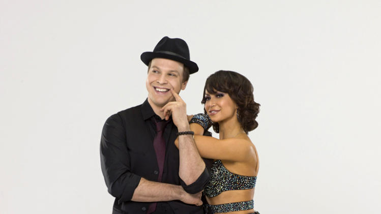 "Gavin DeGraw teams with professional dancer Karina Smirnoff on Season 14 of ""Dancing With the Stars."" Dancing With the Stars"