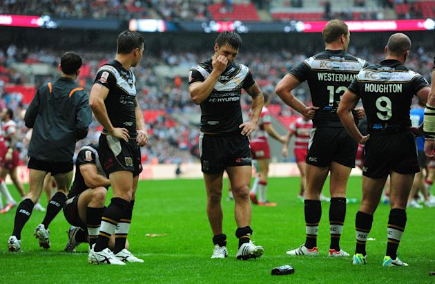 Rugby League - Tetleys Challenge Cup Final - Hull FC v Wigan Warriors - Wembley Stadium