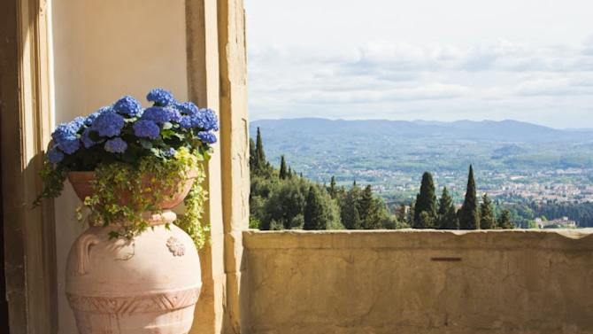 Travel Savant: FlorenceThis fabulous hotel is perched above Florence's city center. Relaxing here once you arrive is a great way to first enjoy the city as you can see the sweeping views across the whole valley while lounging by the pool. The hotel itself is a beautiful villa with 15th Century décor. Take time to enjoy the Medici-style luxury manor's gardens, which are particularly lovely.   Travel Savant: Florence is bought to you by Peony Lim. Peony is the brains behind peonylim.com, a fashion, food and travel site dedicated to her experiences. She also works as a luxury brand ambassador and creative consultant, while traveling between Asia and London to collect pieces for her online boutique.