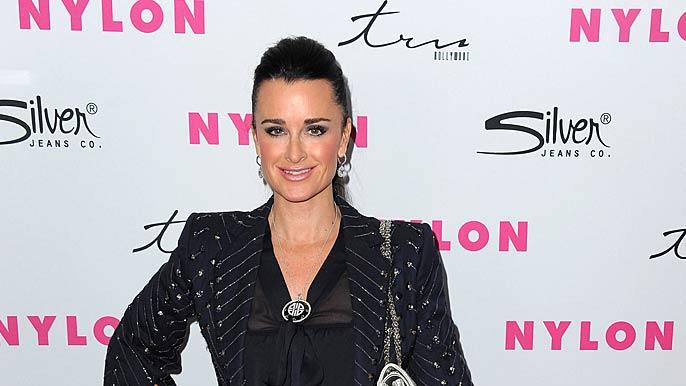 Kyle Richards NYLON Prty