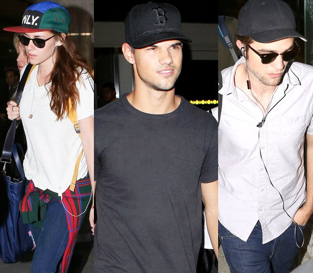 Kristen Stewart, Robert Pattinson and Taylor Lautner