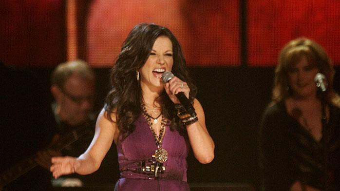 Martina McBride performs onstage at the 43rd Annual CMA Awards at the Sommet Center on November 11, 2009 in Nashville, Tennessee.
