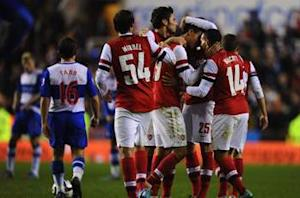Reading 5-7 Arsenal (aet): Walcott & Chamakh seal Madejski madness in astonishing Gunners comeback