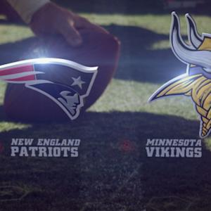 Week 2: New England Patriots vs. Minnesota Vikings