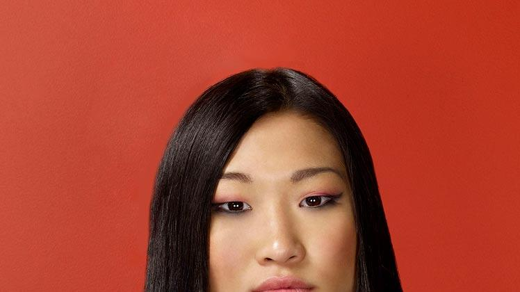 "Jenna Ushkowitz began her television career as a kid, starring in children's TV shows including ""Sesame Street"" and ""Reading Rainbow"" as well as soap opera ""As the World Turns."" Ushkowitz plays Tina, a rebellious punk rocker of a teen who becomes an unlikely member of the Glee Club."