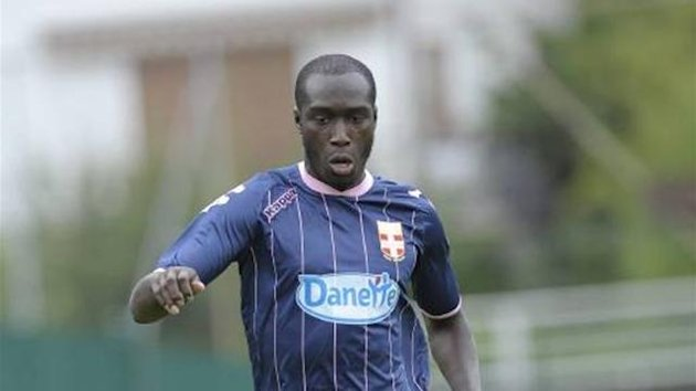FOOTBALL Evian striker Yannick Sagbo