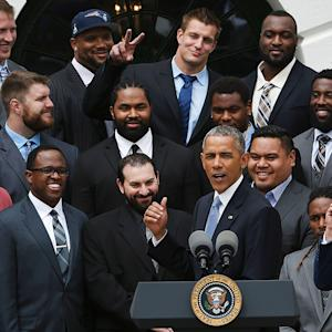 President Obama pokes fun at Patriots, deflate-gate