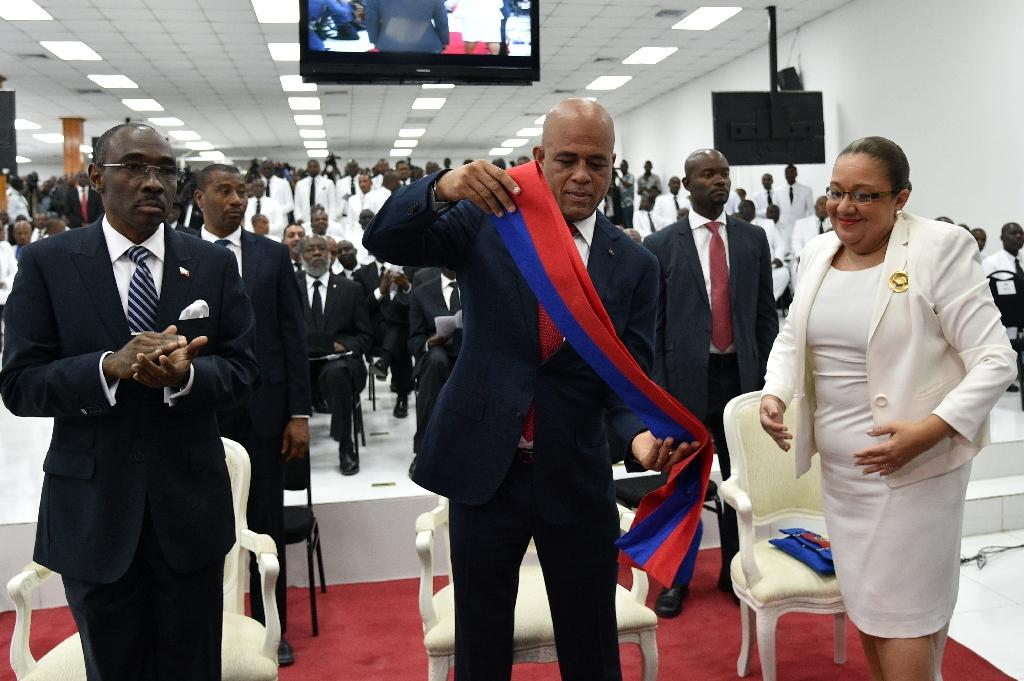 Martelly leaves office with Haiti in crisis