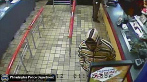 Burger King bandit runs away empty handed