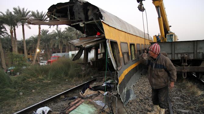 From misery to tragedy in Egyptian train crash