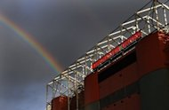 Manchester United's Old Trafford stadium in Manchester, north-west England. Legendary English football club Manchester United plan to tap their massive Asian fan base with a lucrative share listing in Singapore this year, sources familiar with the deal confirmed Wednesday
