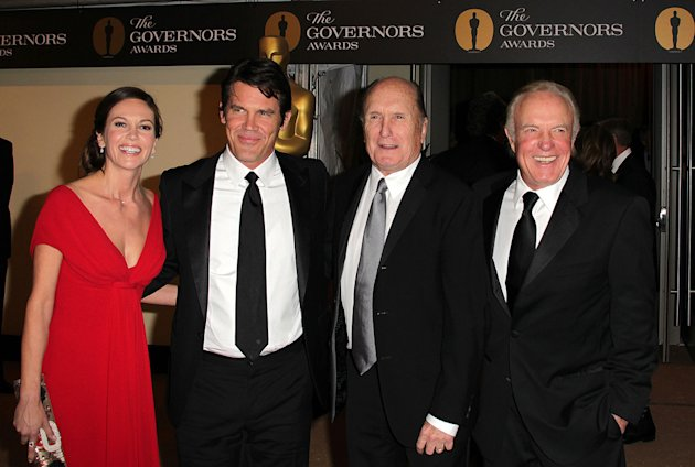 2nd Annual AMPAS Governors Awards 2010 Diane Lane Josh Brolin Robert Duvall James Caan