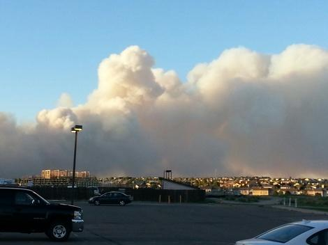 Black Forest Fire Photos from North of Colorado Springs