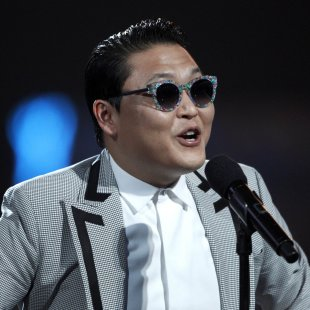 South Korean rapper Psy performs during the Billboard Music Awards at the MGM Grand Garden Arena in Las Vegas