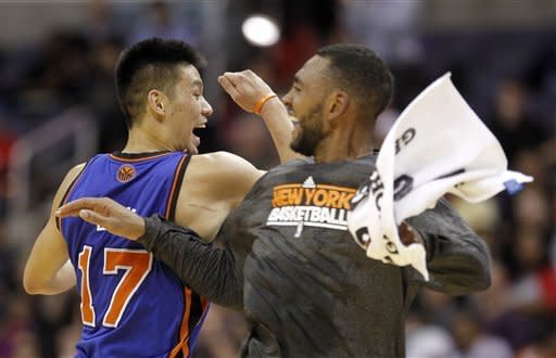 Lin, Chandler lead Knicks over Wizards 107-93