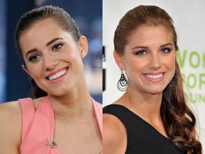 Allison Williams / Alex Morgan
