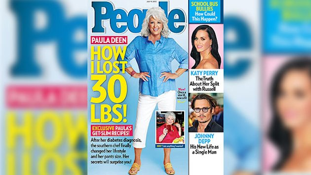 Paula Deen Shows Off Drastic Weight Loss