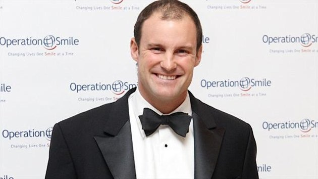 Andrew Strauss, pictured, is looking forward to watching Joe Root in action during the Ashes