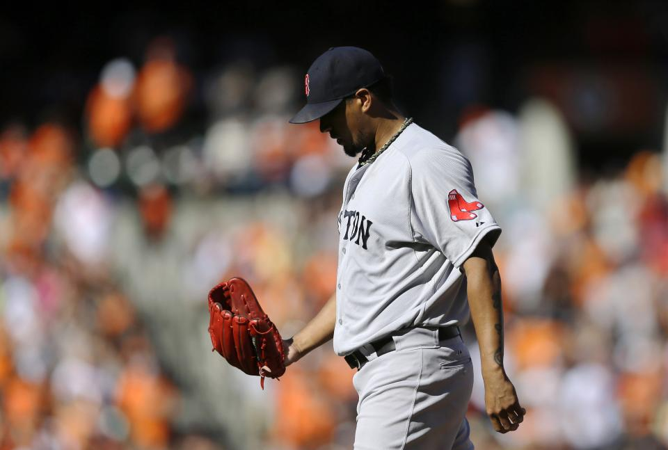 LHP Felix Doubront on Red Sox roster as reliever