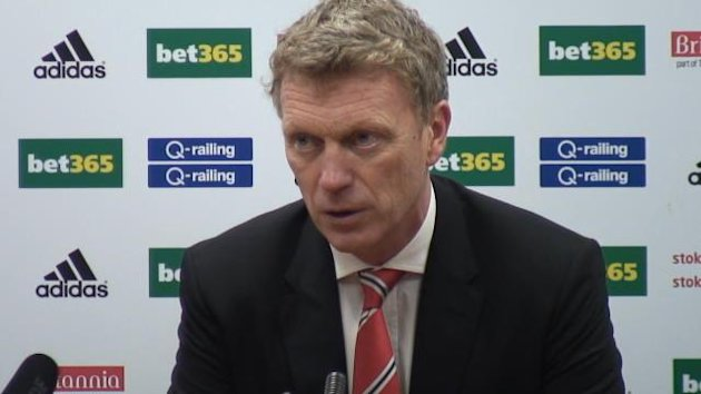 Despite losing to Stoke City 2-1 in the Premier League on Saturday, Manchester United manager David Moyes insists his side were the better team.