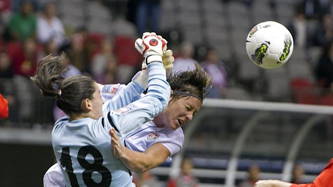 2012 CONCACAF Women's Olympic Qualifying - United States v Mexico Semifinal