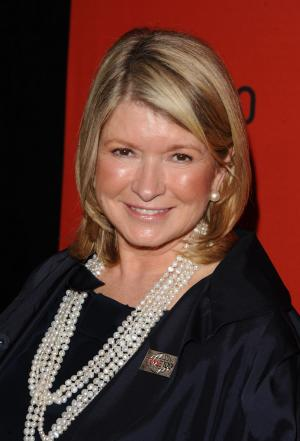 FILE - In this April 26, 2011, file photo Martha Stewart attends the Time 100 Gala, celebrating the 100 most influential people in the world, in New York. Des Moines attorney Guy Cook said Monday, Aug. 8, 2011, that a settlement was reached in lawsuits filed by three people against Martha Stewart Living Omnimedia and Kmart Corp. who had parts of fingers snipped of by Martha Stewart lounge chairs sold at Kmart stores. (AP Photo/Peter Kramer, File)