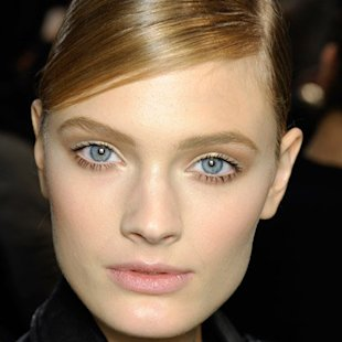 Dior AW12 Backstage: Sleek Hair Trend