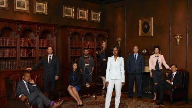 The cast of ABC's 'Scandal' -- ABC