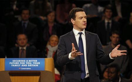 George Osborne to stay Chancellor if Conservatives re-elected - Cameron