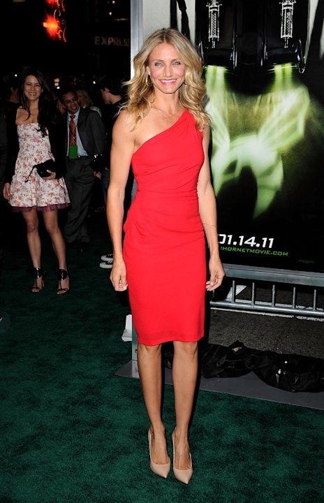 The Green Hornet LA Premiere 2011 Cameron Diaz