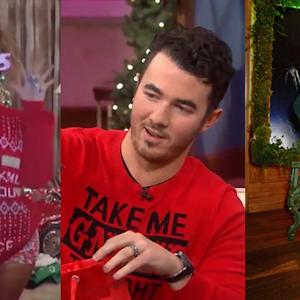 Kevin Jonas, Beyonce and Anna Kendrick Get Into The Holiday Spirit
