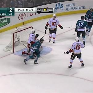 Marleau's power-play goal