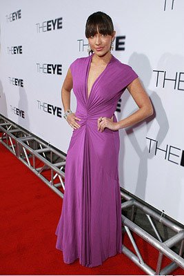 Fernanda Romero at the Los Angeles premiere of Lionsgate Films' The Eye