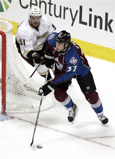 Landeskog lifts Avs to 3-2 OT win over Ducks