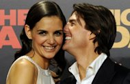 &lt;p&gt;File photo of US actors Tom Cruise and his wife Katie Holmes. Cruise, who turns 50 Tuesday, wed Holmes in a storybook Italian castle in November 2006 after declaring his love for the former &quot;Dawson&#39;s Creek&quot; star live on &quot;Oprah&quot; -- famously jumping up and down on a couch in the studio. Holmes has filed for divorce.&lt;/p&gt;