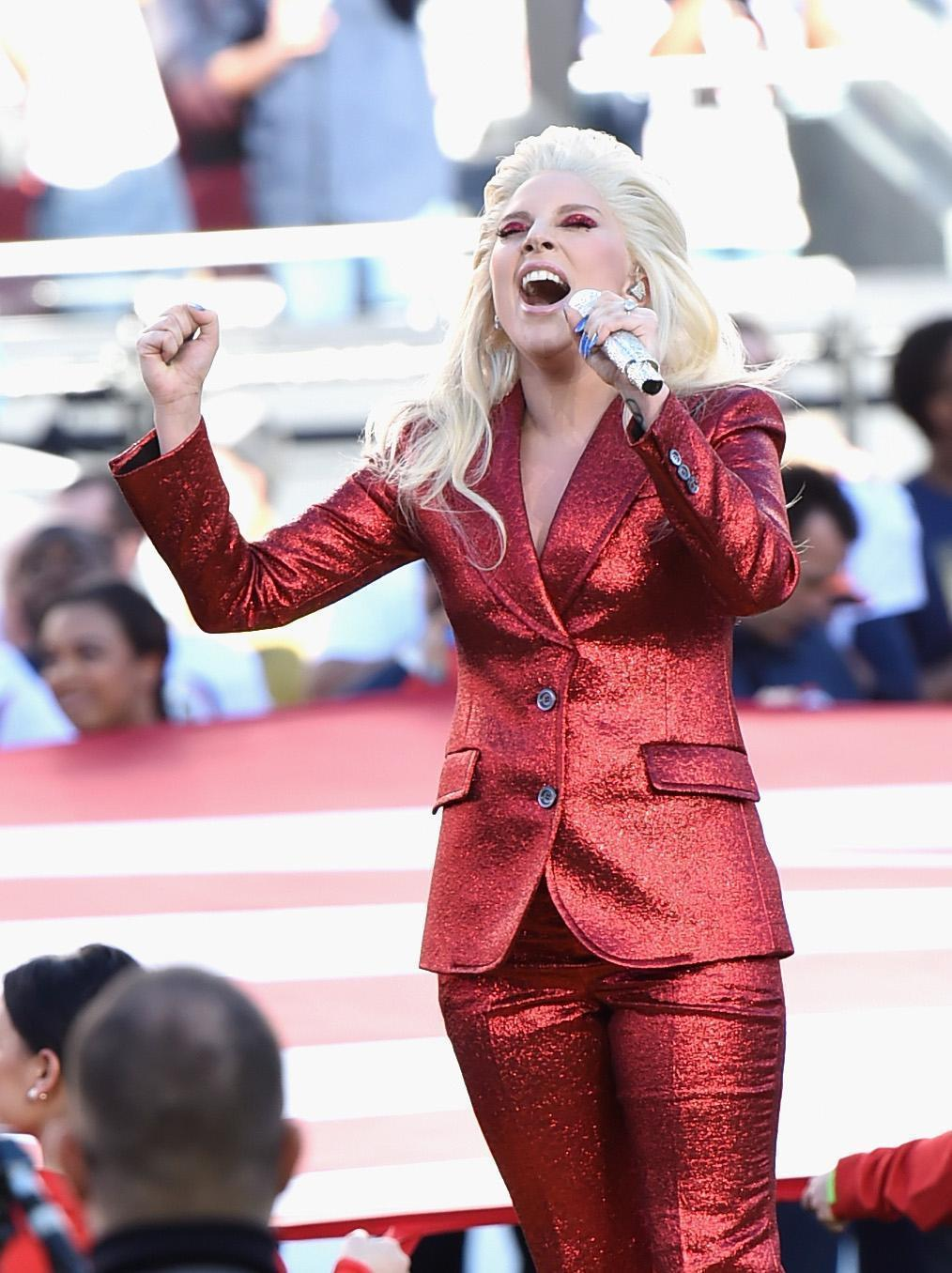 Lady Gaga Shakes Up Super Bowl 50 With Powerful, Flawless National Anthem