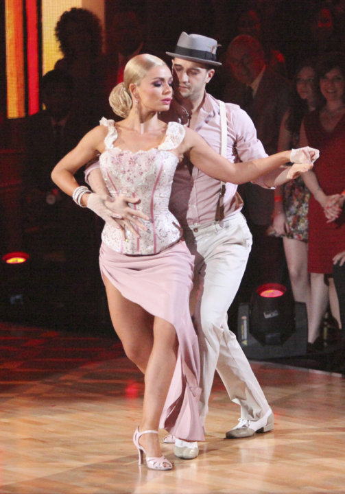 Katherine Jenkins and Mark …