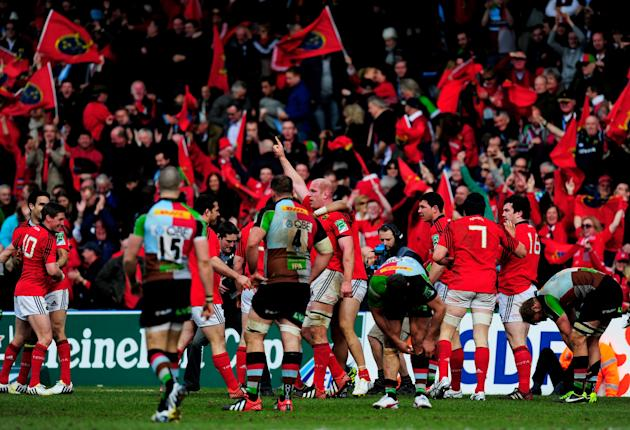 Harlequins v Munster - Heineken Cup Quarter Final