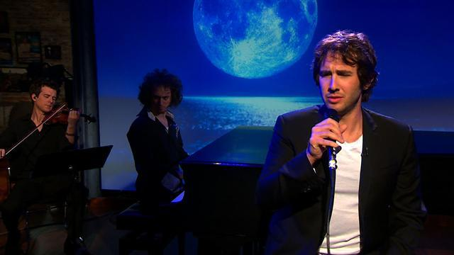 "Second Cup Cafe: Josh Groban sings ""The Moon's a Harsh Mistress"""