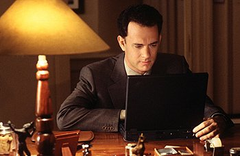 Tom Hanks in Warner Brothers' You've Got Mail