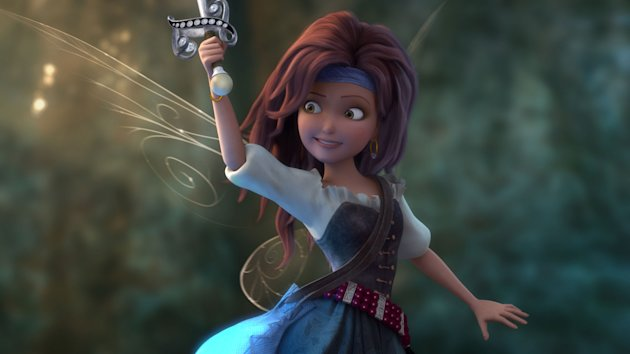 Zarina (voiced by Christina Hendricks) in 'The Pirate Fairy' (Photo: Disney)