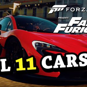 All 11 Cars from  Fast & Furious - Forza Horizon 2 Gameplay