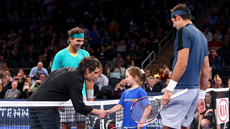 Tennis: BNP Paribas Showdown-Nadal vs del Potro