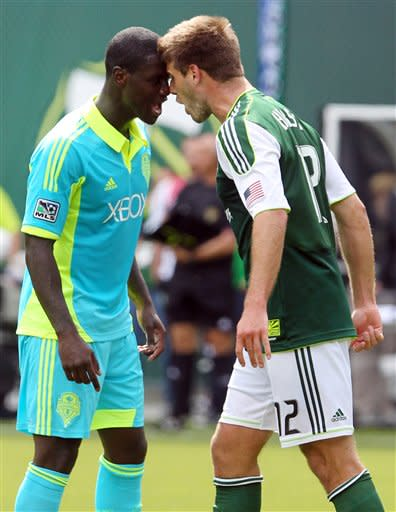 Timbers slow Sounders' playoff push with 1-1 draw