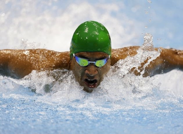 South African Paralympic swimmer Achmat Hassiem &#x2014; AP