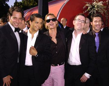 "Cast of ""Queer Eye For The Straight Guy"" Thom Filicia, Jai Rodriguez, Carson Kressley, Ted Allen, and Kyan Douglas 56th Annual Emmy Awards - 9/19/2004 Ted Allen"