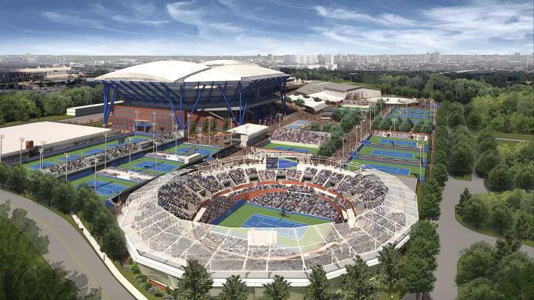 US Open stadium to have roof by 2017 tourney