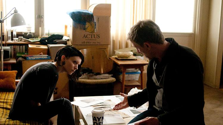 The Girl with the Dragon Tattoo 2012 Columbia Pictures Rooney Mara Daniel Craig
